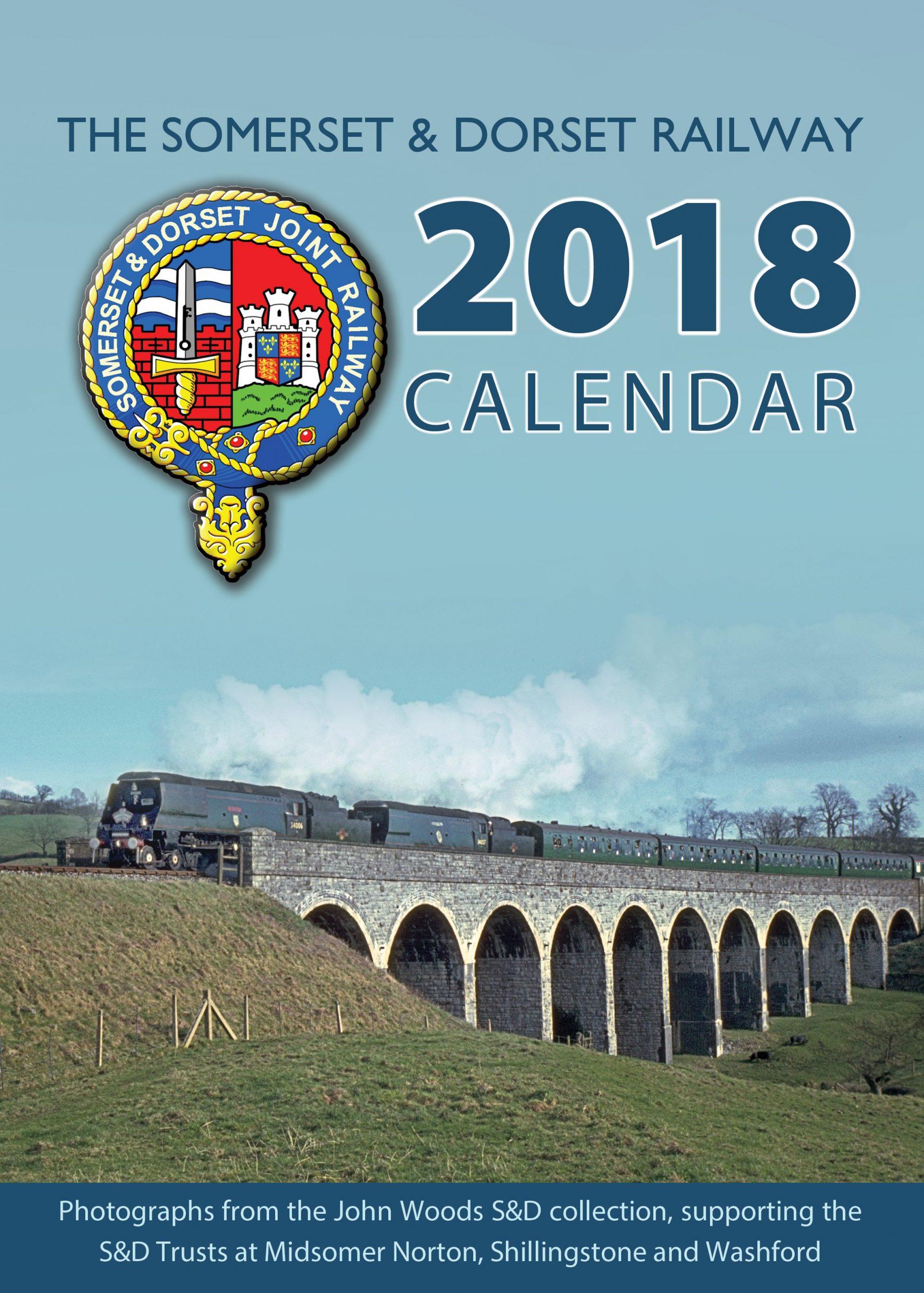 The S&DRT 2018 calendar