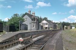Masbury station & summit