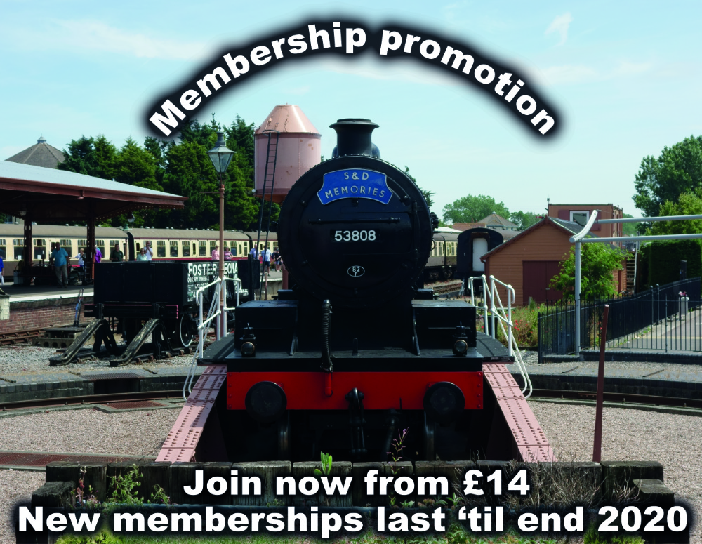 Membership promotion. New memberships - from £14 - will last until the end of 2020.