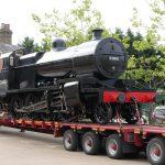 53808 arrives at the Mid-Hants. Railway