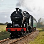 53808 in action at the Watercress Line's Autumn Steam Gala
