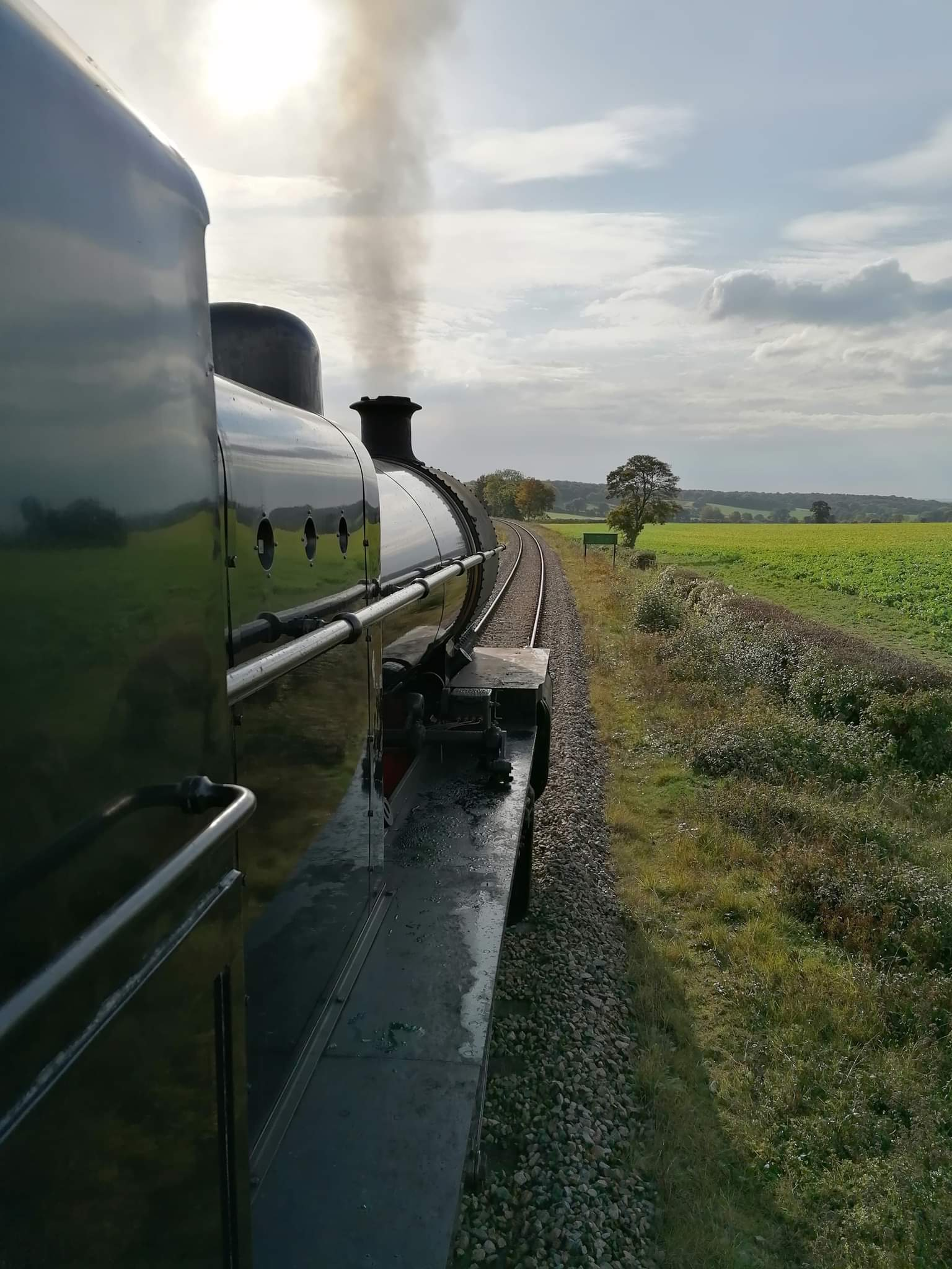 53808 between Medstead and Ropley on 14 October