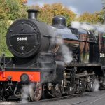53808 steaming in preparation for the Watercress Line gala weekend