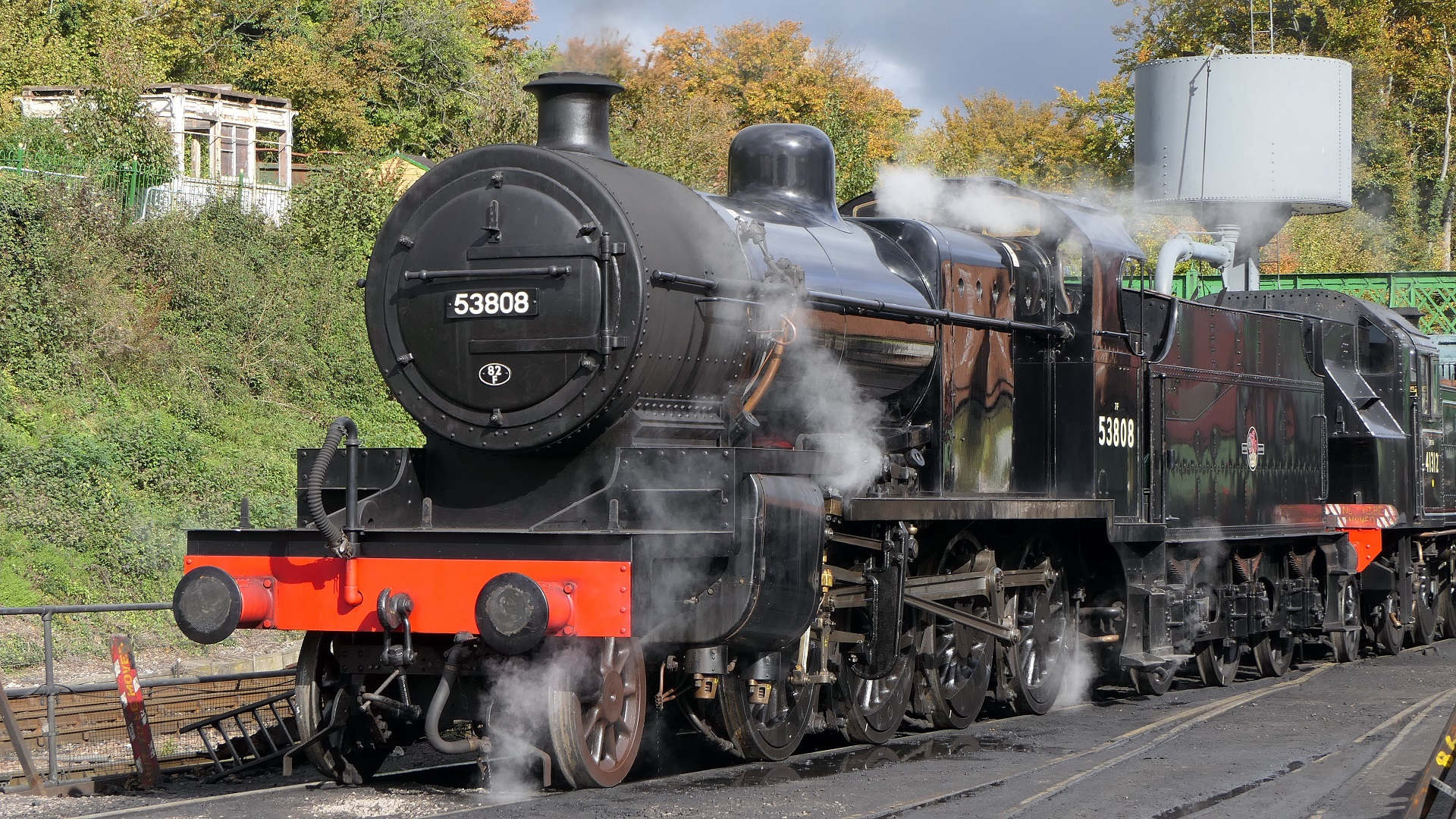 53808 at Ropley on 13 October