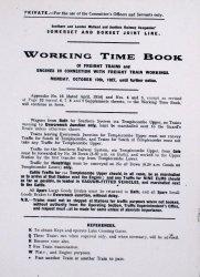 S&D Timetable Reprints
