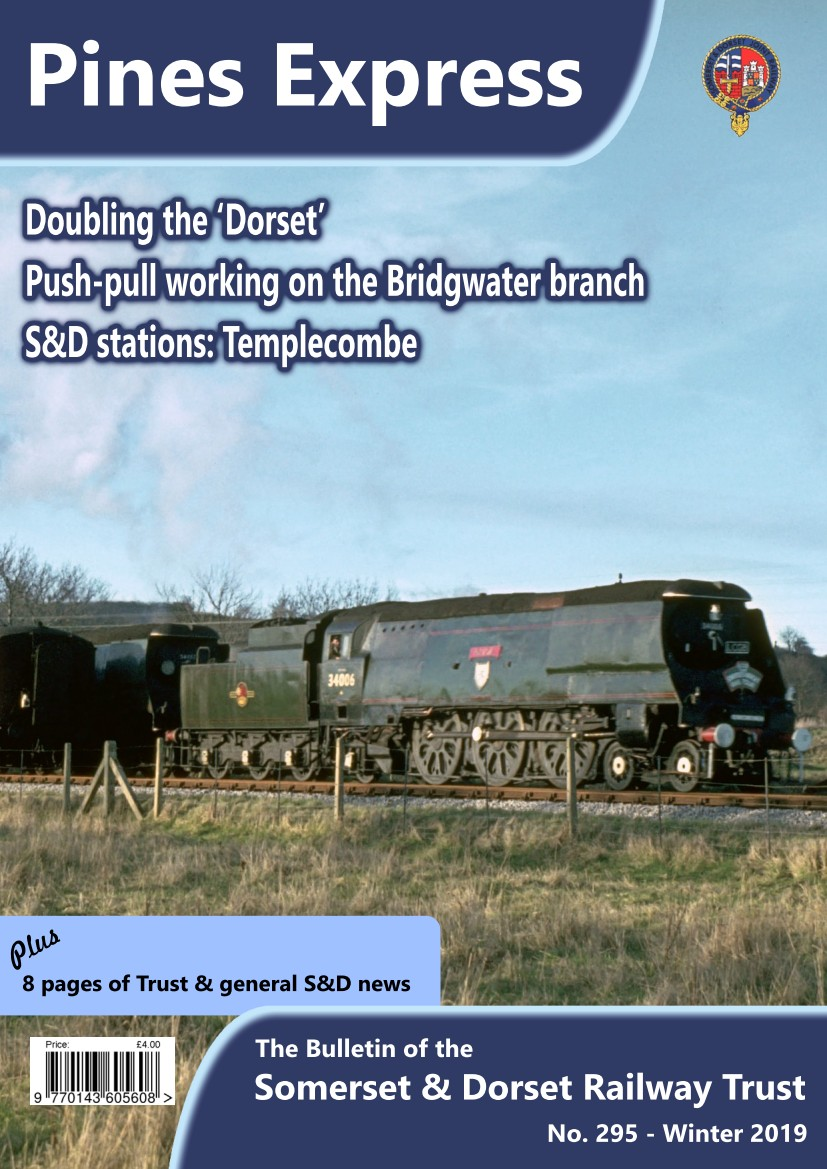Front cover of Pines Express issue 295.