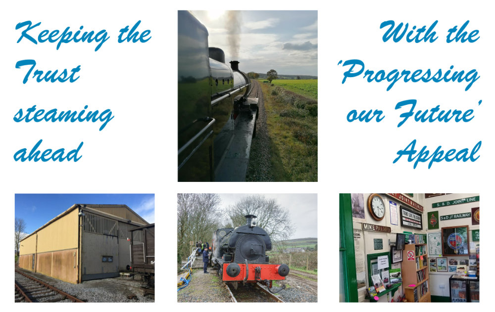 Keeping the Trust steaming ahead - with the 'Progressing our Future' appeal