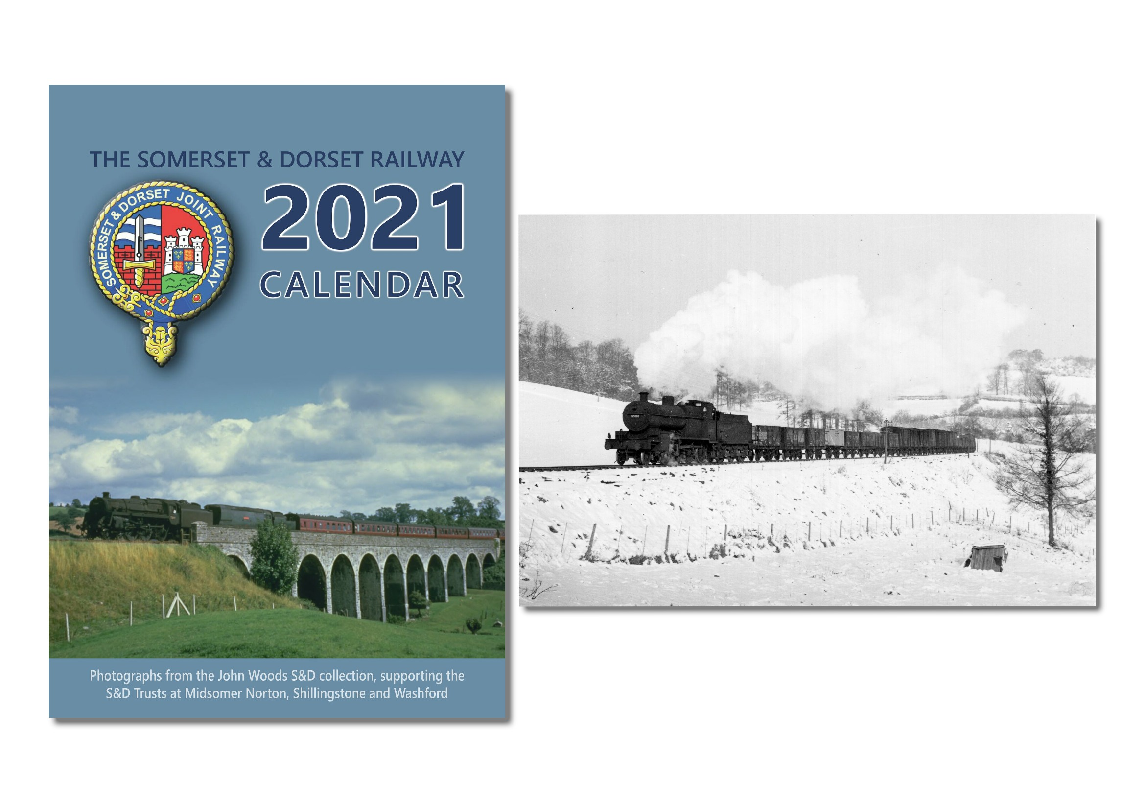 Our 2021 calendar and the latest Christmas Cards featuring a photo by Ivo Peters