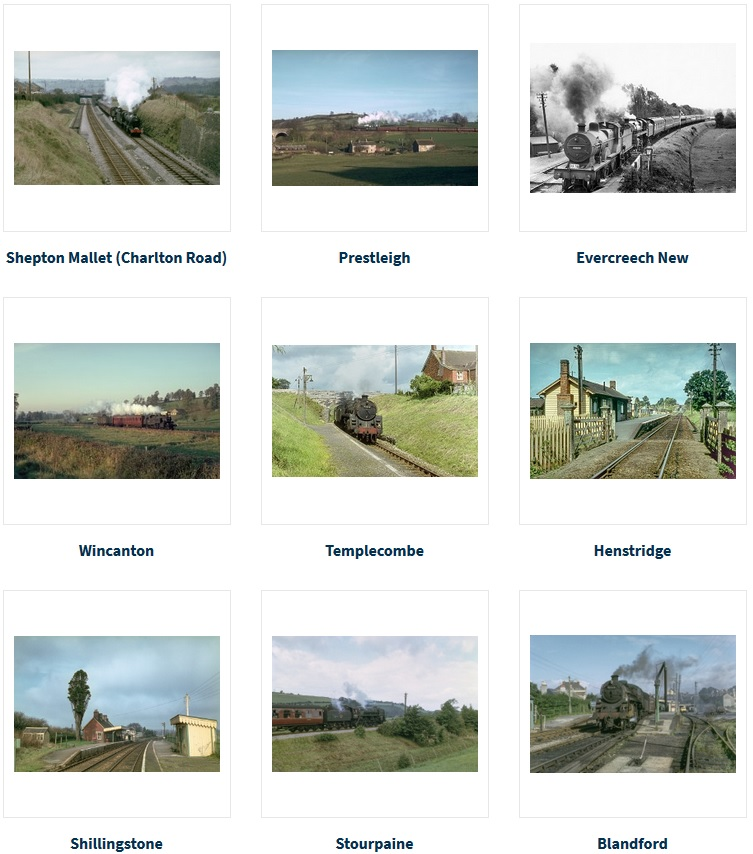 A screenshot of some of the categories in our S&D photo collection section in the online shop
