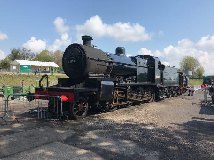 S&D 7F No. 53808 at Ropley