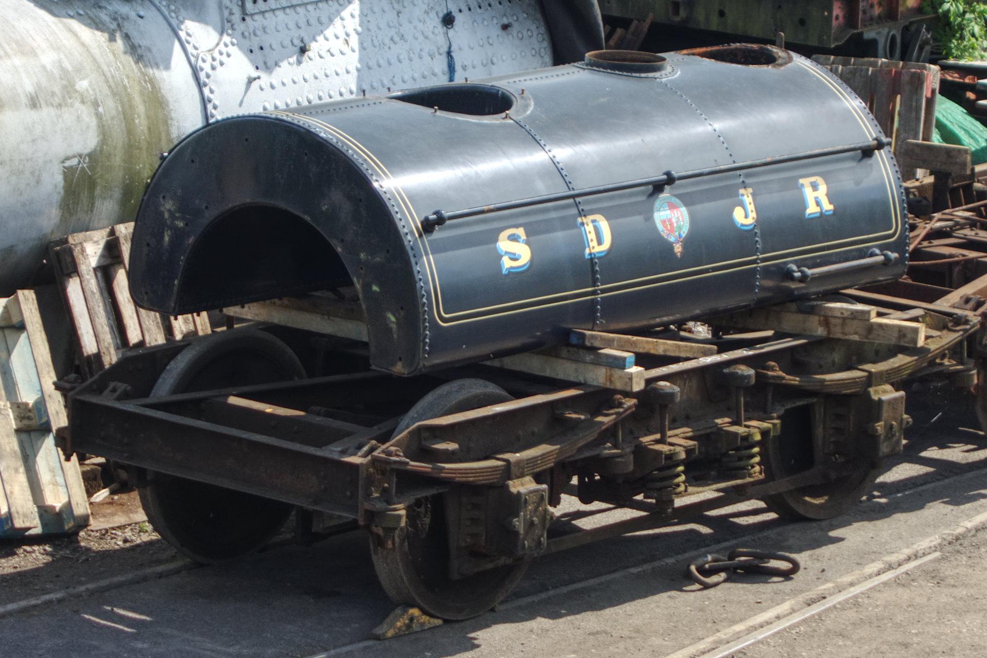Kilmersdon's saddle tank at Ropley